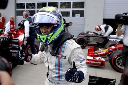 """Felipe Massa no piensa en la retirada: """"tengo tres años de contrato con Williams"""""""