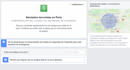 ¿Doble rasero? Lluvia de críticas a Facebook por no usar su Safety Chen también en Beirut