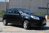 Chevrolet Aveo 1.2 GLP, prueba (parte 3)