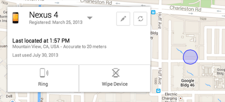 Device Manager, encuentra tu Android perdido