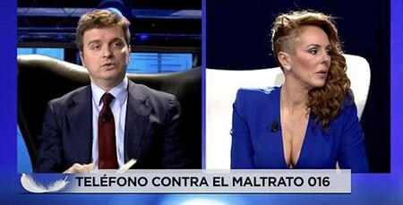 Marc Giró y Rocío Carrasco