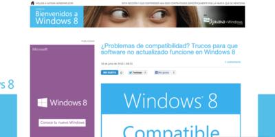 Espacio Bienvenidos a Windows 8: ¿qué echas en falta?