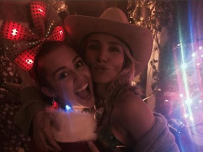 La Navidad de los Pataky... y Miley Cyrus