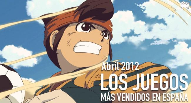 Los juegos más vendidos en España en abril 2012