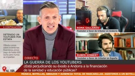 Joaquin Prat Durante La Entrevista A Los Youtubers