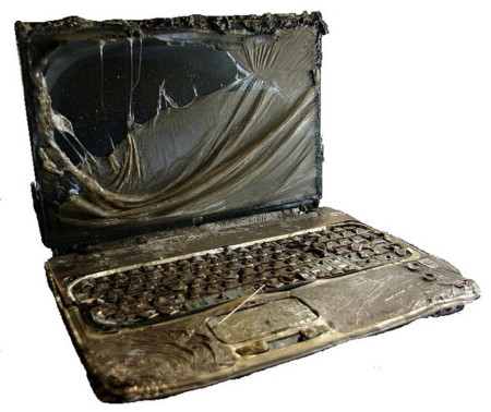 Burned Notebook