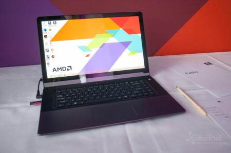AMD FX-7600P, prototipo de pruebas