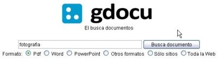 Gdocu, el Google de los documentos