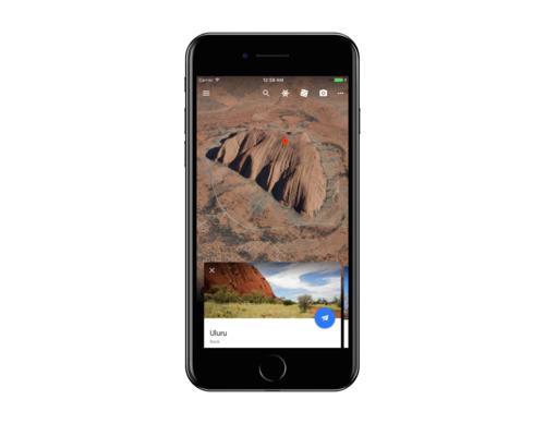 Google Earth para iOS se pone al día: soporte para 64 bits, interfaz nueva y las últimas características del servicio