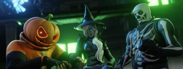 """Fortnite celebra Halloween con un nuevo evento, """"Pesadilla antes de la tempestad"""": nuevos mapas, juegos, cosméticos y más"""
