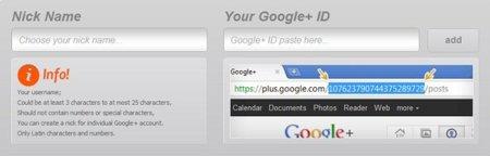 Acorta la URL de tu perfil de Google+ con Google Plus Nick