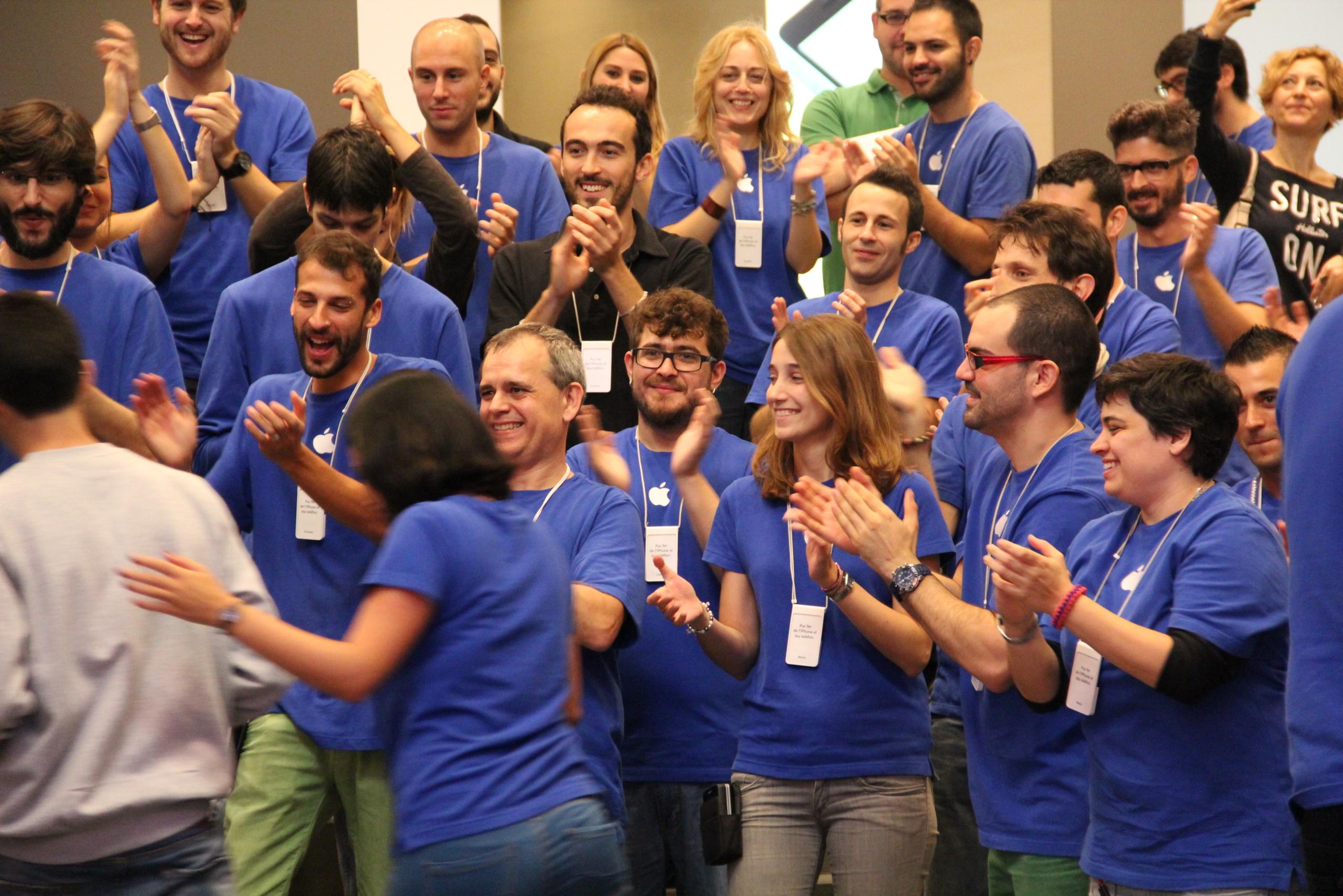 Foto de Lanzamiento de los iPhone 5s y 5c en Barcelona (14/17)