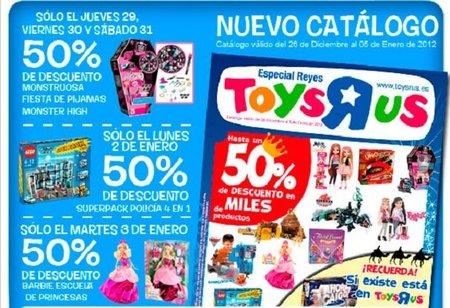 50% de descuento en Toys 'R' us