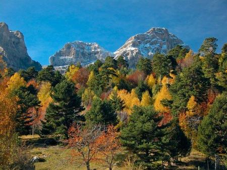 Pirineos en otoño