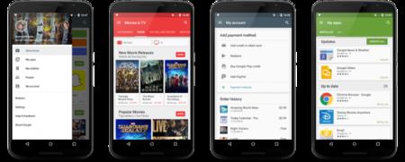 """Google Play Store llega a la versión 5.1 añadiendo sección """"Mi Cuenta"""""""