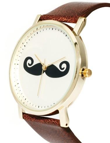 Reloj ASOS con bigote