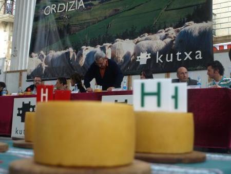 Exposición de quesos