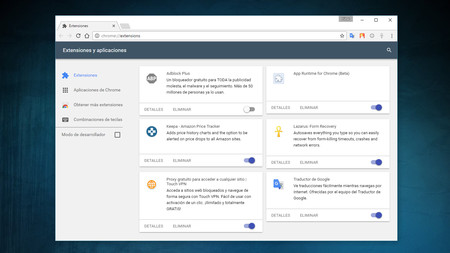 Cómo habilitar el diseño 'Material Design' en todos los elementos de Chrome