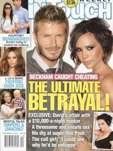 A David Beckham que no le toquen la moral con más affairs