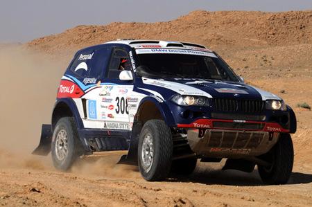 Sólo Marc Coma salva el honor español en el Raid-Rally de Túnez