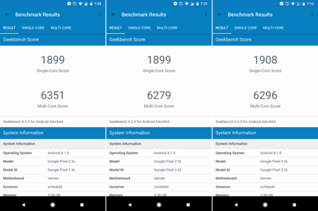 Geekbench Pixel 2 Xl