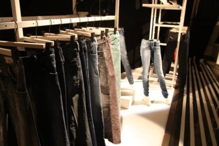 Diesel, colección Otoño-Invierno 2010/2011 en el Bread and Butter en Berlín, jeans
