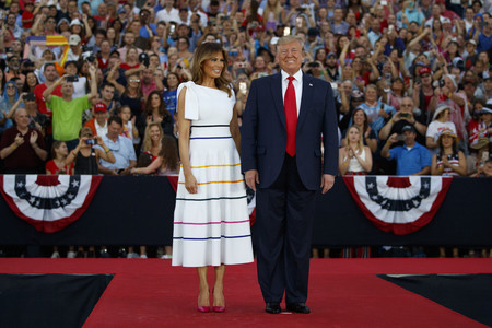 Melania Trump July 4th 02