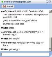 Si no sabes con quien hablar, añade a Google Talk Conference bot