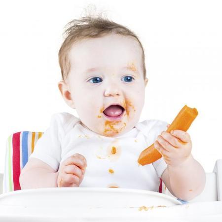 ¿Por qué algunos bebés tienen la nariz de color naranja?