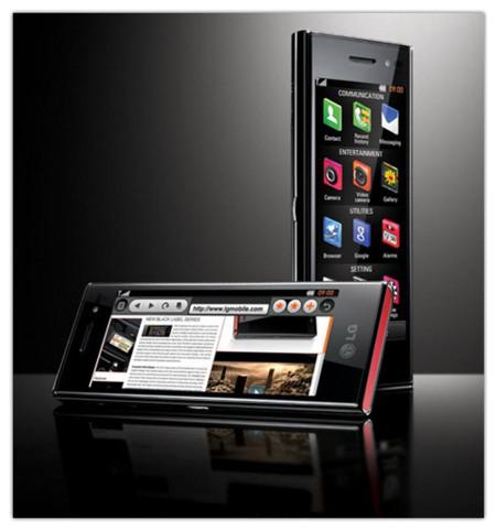 Imágenes oficiales del nuevo LG Chocolate