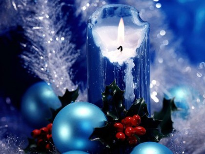 Los colores y texturas de la Navidad