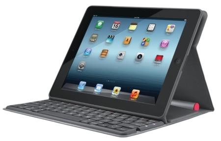 Logitech Solar Keyboard Folio es amigo del iPad y del sol