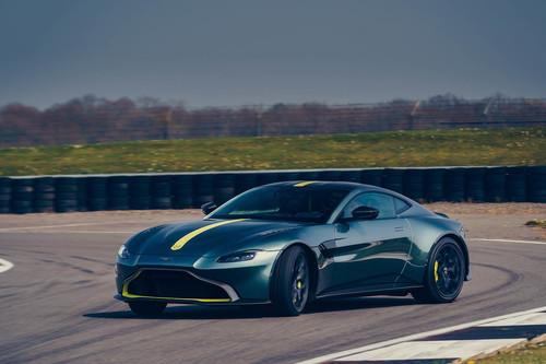 Aston Martin Vantage AMR: sólo 200 unidades de pureza con cambio manual y 510 CV