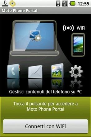 Motorola Phone Portal, acceso a los datos de tu teléfono desde el navegador