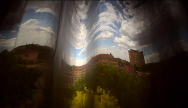 Draperia obscura», un original timelapse realizado con técnicas de cámara oscura