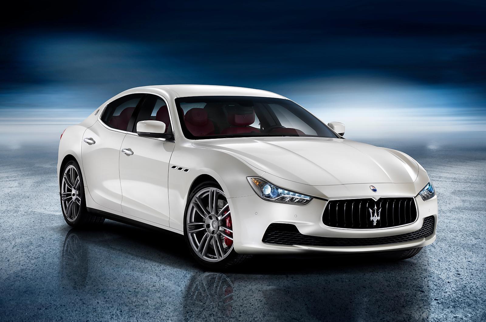 Foto de El Maserati Ghibli se destapa antes de tiempo (1/3)