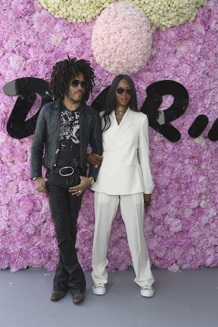 Lenny Kravitz Dior Homme Outside Arrivals Paris Fashion Week Menswear Spring Summer 2019