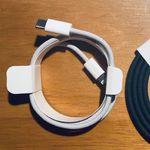 El cable USB-C a Lightning trenzado del iPhone 12 aparece en más fotografías
