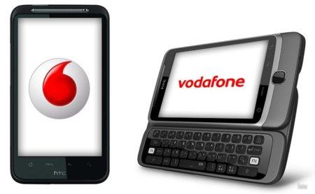 Vodafone lanza HTC Desire HD y Desire Z en España, precios y tarifas asociadas
