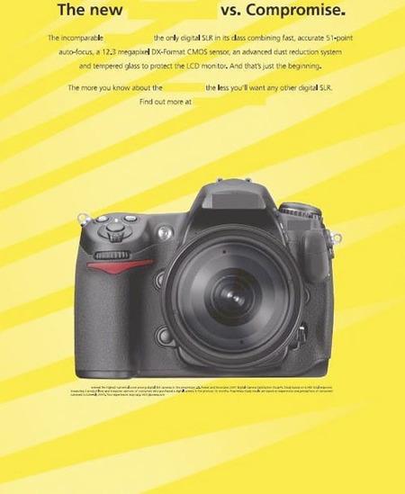 Filtrada la publicidad de la nueva réflex de Nikon
