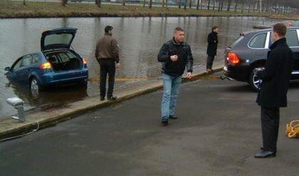 Audi A3 En El Agua