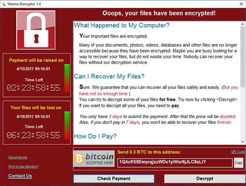 Wanna Decryptor, el ransomware que aterrorizó al mundo también llegó a México