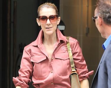 ¿Rosa millennial de pies a cabeza? Céline Dion cumple todos nuestros sueños estilísticos en un solo look