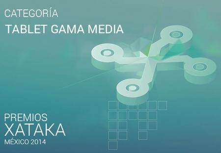 Mejor tablet gama media, vota por tu preferido para los premios Xataka México 2014