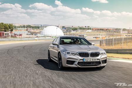 BMW M5 2018 delantera dinámica
