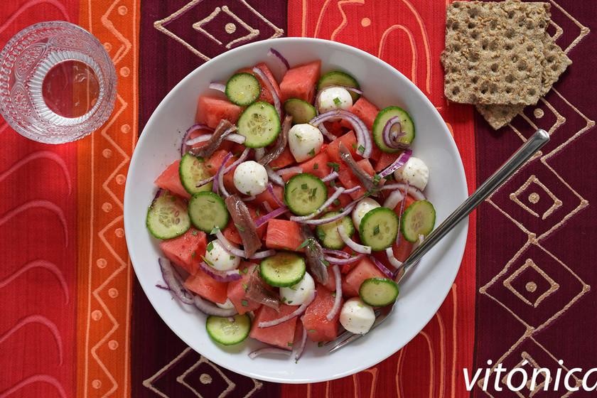 Tu dieta semanal con Vitónica: menú fresco con recetas sin horno, ideal para el verano
