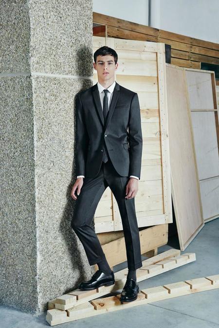 traje zara coleccion hombre septiembre 2014