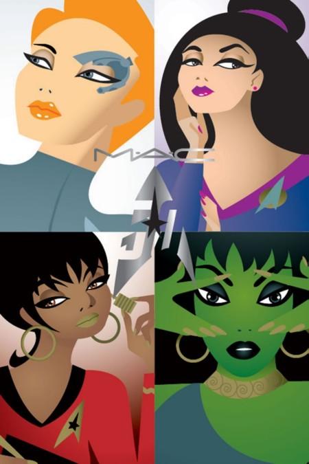 Star Trek, el último proyecto de MAC Cosmetics