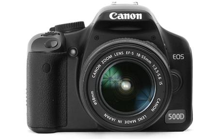 Canon 500D, ¿rumor o esta al caer?