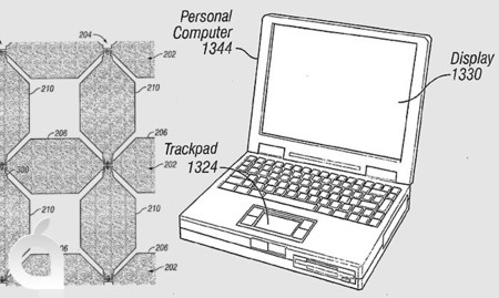 Apple inventa un nuevo tipo de sensor táctil para pantallas de gran tamaño